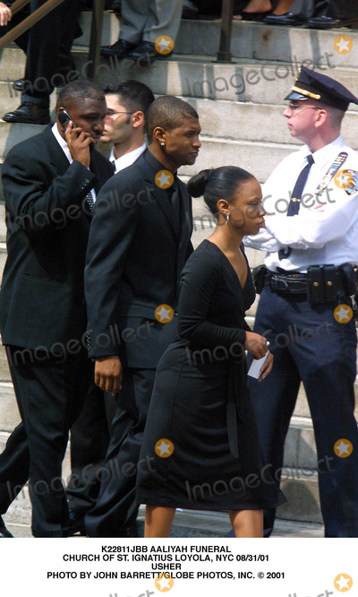 Aaliyah,Usher Photo - Archival Pictures - Globe Photos - 89546