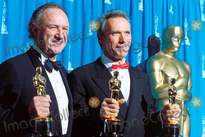 Clint Eastwood,Gene Hackman Photo - Archival Pictures - Globe Photos - 67722