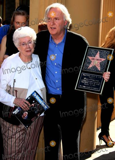 Photo of James Cameron & his  Mother  Shirley Cameron