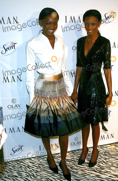 Iman,Oluchi Photo - Archival Pictures - Globe Photos - 46502