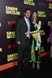 Adam Sandler Photo - 7 April 2017- Hollywood  California - Adam Sandler Jackie Sandler the premiere of Netflixs Sandy Wexler Photo Credit PMAAdMedia