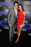 Asha Leo Photo - 21 August 2014 - West Hollywood California - Scott Elrod Asha Leo Audi 66th Annual Pre-Emmy Awards Celebration held at Cecconis Photo Credit Byron PurvisAdMedia