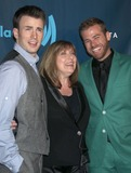 SCOTT EVANS Photo - 20 April 2013 - Los Angeles California - Chris Evans Lisa Evans mother Scott Evans brother 24th Annual GLAAD Media Awards held at JW Marriott LA LIVE Photo Credit Russ ElliotAdMedia
