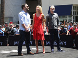 Annabelle Wallis Photo - 20 May 2017 - Hollywood California - Jake Johnson Annabelle Wallis Alex Kurtzman Universal Celebrates The Mummy Day With 75-Foot Sarcophagus Takeover At Hollywood And Highland Photo Credit F SadouAdMedia