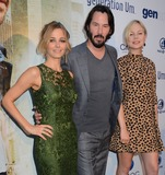 Adelaide Clemens Photo - 02 May 2013 - Hollywood Ca - Bojana Novakovic Keanu Reeves Adelaide ClemensGenArt and Phase 4 Films will present the Los Angeles premiere of Generation Um at ArcLight Cinemas in HollywoodPhoto Credit BirdieThompsonAdMedia