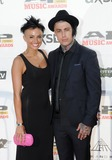 Ronnie Radke Photo - 21 July 2014 - Cleveland OH - Vocalist RONNIE RADKE of the band FALLING IN REVERSE and his girlfriend JENNA KING attend the 1st Annual 2014 Gibson Brands AP Music Awards at the Rock and Roll Hall of Fame and Museum   Photo Credit Jason L NelsonAdMedia