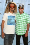 Bob Hurley Photo - 4 August 2011 - Huntington Beach California - Rob Machado and Bob Hurley 2011 Hurley Walk The Walk National Championship at the US Open of Surfing held at Huntington Beach Photo Credit Byron PurvisAdMedia