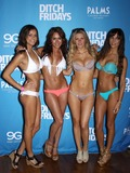 Chuck Liddell Photo - 05 July 2012 - Las Vegas Nevada - Vanessa Hanson Rachelle Leah Chrissy Blair Kenda Perez Chuck Liddell Arianny Celeste and UFC Octagon Girls host official UFC Fight Week Pool Party at Palms Pool  BungalowsPhoto Credit MJTAdMedia