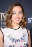 Aubrey Plaza Photo - 02 March 2017 - Hollywood California - Aubrey Plaza Disneys Beauty and the Beast World Premiere held at El Capitan Theatre Photo Credit AdMedia