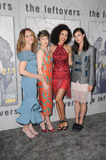 Amy Brenneman Photo - 04 April 2017 - Hollywood California - Amy Brenneman Carrie Coon Jasmin Savoy-Brown Margaret Qualley  Los Angeles Premiere of Season 3 of The Leftovers held at Avalon Hollywood in Hollywood Photo Credit Birdie ThompsonAdMedia
