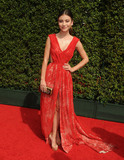 G Hannelius Photo - 12 September 2015 - Los Angeles California - G Hannelius Genevieve Hannelius 2015 Creative Arts Emmy Awards - Arrivals held at the Microsoft Theatre Photo Credit Byron PurvisAdMedia
