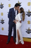 Eric Decker Photo - 19 April 2015 - Arlington Texas -  Eric Decker Jesse James Decker  50th Academy Of Country Music Awards held at ATT Stadium Photo Credit MJTAdMedia