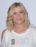 Alison Sweeney Photo - 09 September 2016 - Los Angeles California Alison Sweeney Hollywood Unites For The 5th Biennial Stand Up To Cancer (SU2C) held at Walt Disney Concert Hall Photo Credit Birdie ThompsonAdMedia