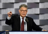 Al Franken Photo - United States Senator Al Franken (Democrat of Minnesota) makes remarks at the 2016 Democratic National Convention at the Wells Fargo Center in Philadelphia Pennsylvania on Monday July 25 2016 Photo Credit Ron SachsCNPAdMedia