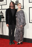 Dave Grohl Photo - 15 February 2016 - Los Angeles California - Dave Grohl Jordyn Blum 58th Annual GRAMMY Awards held at the Staples Center Photo Credit AdMedia