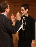Adam Schiff Photo - 16 April 2012 - West Hollywood California - Congressman Adam Schiff Weho Mayor pro term Abbe Land Jeff Prang and Abbe Land West Hollywood New mayor  Mayor pro term Sworn in Ceremony during council meeting Held at WEHO Council chambers Photo Credit Faye SadouAdMedia