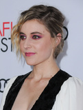 Audy Photo - 16 November 2016 - Hollywood California Greta Gerwig AFI FEST 2016 Presented By Audi - A Tribute To Annette Bening And Gala Screening Of A24s 20th Century Women held at TCL Chinese Theater Photo Credit Birdie ThompsonAdMedia