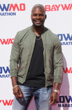 Amin Joseph Photo - 22 April 2017 - Los Angeles California - Amin Joseph Baywatch Slow Motion Marathon held at Microsoft Square at LA Live in Los Angeles Photo Credit Birdie ThompsonAdMedia