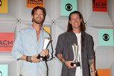 Brian Kelley Photo - Brian Kelley Tyler Hubbard Florida Georgia Lineat the 2016 Academy of Country Music Awards Press Room MGM Grand Garden Arena Las Vegas NV 04-03-16