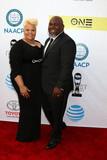 David Mann Photo - Tamela Mann David Mannat the 48th NAACP Image Awards Arrivals Pasadena Conference Center Pasadena CA 02-11-17