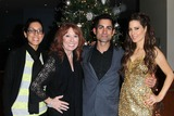 Mike Kasem Photo - Julie Kasem Linda Kasem Mike Kasem Kerri Kasemat the James Barbour Holiday Concert Renaissance Hotel Hollywood CA 12-16-11