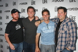 Adrian Pasdar Photo - Scott Grimes Bob Guiney Adrian Pasdar Greg Grunberg at the LA Launch Of LYCOS Life at the Banned From TV Jam Space North Hollywood CA 06-08-15
