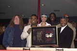 Ernie Isley Photo - Ron and Ernie Isley and friends at the induction ceremony for the Isley Brothers at Hollywoods Rock Walk Guitar Center 01-10-02