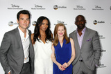 Alimi Ballard Photo - LOS ANGELES - MAY 17  Jay Hayden Rose Rollins Mireille Enos Alimi Ballard at the ABC International Upfronts 2015 at the Disney Studios on May 17 2015 in Burbank CA