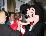 Adrienne Frantz Photo - LOS ANGELES - DEC 4  Adrienne Frantz Bailey Amelie Bailey Scott Bailey Mickey Mouse character at the Amelie Baileys 1st Birthday Party at Private Residence on December 4 2016 in Studio CIty CA