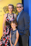 Steve Carell Photo - LOS ANGELES - JUN 24  Kristen Wiig Nev Scharrel Steve Carell at the Despicable Me 3 Premiere at the Shrine Auditorium on June 24 2017 in Los Angeles CA