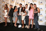 Angelina Jolie Pivarnick Photo - (L-R) Sammi Giancola Ronnie Fist Pump Brah Magro Angelina Jolie Pivarnick Pauly Del Vecchio Nicole Snooki Polizzi Vinny Guadagnino Jenni JWOWW Farley and Mike The Situation Sorrentinoin the press room of the MTV Movie Awards 2010Gibson AmpitheaterLos Angeles CAJune 6 20102010 Kathy Hutchins  Hutchins Photo