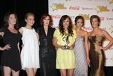 Margo Harshman Photo - Margo Harshman Leah Pipes Rumer Willis Briana Evigan Jamie Chung and Audrina Patridge in the Press Room of the ShoWest Awards Gala at the Paris Hotel  Casino in Las Vegas NV on April 2 2009