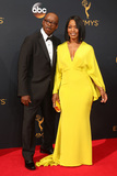 Angela Bassett Photo - LOS ANGELES - SEP 18  Courtney B Vance Angela Bassett at the 2016 Primetime Emmy Awards - Arrivals at the Microsoft Theater on September 18 2016 in Los Angeles CA