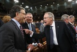 Al Franken Photo - Washington DC 9-9-2009US Senator Al Franken (D-MN) (L) jokes with US Senate Majority Leader Harry Reid (R) on the floor US President Barack Obama speaks about health care reform before a joint session of the US Congress on Capitol Hille a joint session of the US Congress on Capitol Hill Photo by Jason ReedPOOL-CNP-PHOTOlinknet
