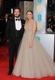 Sam Claflin Photo - Photo by KGC-03starmaxinccomSTAR MAX2015ALL RIGHTS RESERVEDTelephoneFax (212) 995-11962815Sam Claflin and Laura Haddock at the 2015 EE BAFTA British Academy Film Awards(London England UK)