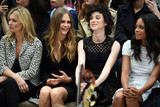 Annie Clark Photo - Photo by KGC-03starmaxinccomSTAR MAXCopyright 2015ALL RIGHTS RESERVEDTelephoneFax (212) 995-119692115Kate Moss Cara Delevingne Annie Clark aka St Vincent and Naomie Harris are seen at the Burberry Prorsum Runway Show during London Fashion Week SS16(London England UK)