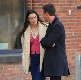 Keira Knightley Photo - Photo by XPXstarmaxinccomSTAR MAXCopyright 2016ALL RIGHTS RESERVEDTelephoneFax (212) 995-11963716Edward Norton and Keira Knightley on the set of Collateral Beauty in Brooklyn New York(NYC)