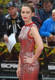 Emily Blunt Photo - Photo by KGC-143starmaxinccomSTAR MAXCopyright 2015ALL RIGHTS RESERVEDTelephoneFax (212) 995-119692115Emily Blunt at the premiere of Sicario(London England UK)