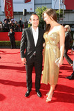 Bianca Kajlich Photo - Landon Donovan and Bianca Kajlich walk the red carpet for the 2010 ESPY Awards held at Nokia Theatre LA Live on a sizzling hot day Los Angeles CA 071410