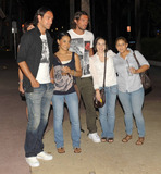 Paolo Maldini Photo - EXCLUSIVE Italian footballers Alessandro Nesta (L) and Paolo Maldini (R) happily pose with fans while out for the evening on Lincoln Road with their wives Adriana Maldini and Gabriela Pagnozzi Miami Beach FL  070910 Fees must be agreed prior to publication