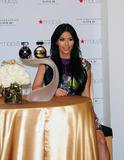 Aventura Photo - Entrepreneur fashion designer and reality TV star Kim Kardashian arrives to celebrate the release of her new perfume Kim Kardashian Gold at Macys in Aventura FL 5142011