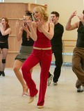 Christina Applegate Photo - New York NY  01-19-2005Christina Applegate making her Broadway debut in rehearsal for Sweet Charity at 42nd Street StudiosDigital Photo by Lane Ericcson-PHOTOlinkorg