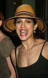 Melanie Griffith Photo - Saundra Santiago at a Welcome to Broadway Party For Melanie Griffith at Thalia Restaurant in New York City on July 20 2003 Photo Henry McgeeGlobe Photos Inc 2003 K31787hmc