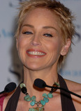 Sharon Stone Photo - Basic Instinct actress Sharon Stone announced the noninees for the Whitestripe Crest Style Awards in New York City April 21 2004