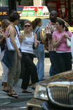 The Dixie Chicks Photo - Natalie Maines of the Dixie Chicks taking a stroll on Madison Avenue with her friends New York June 24 2003