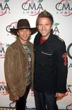 AARON BENWARD Photo - Scott Reeves and Aaron Benward of Blue Country  arriving to the 39th Annual Country Music Awards held at Madison Square Garden