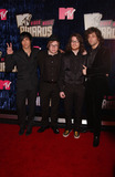 Andrew Hurley Photo - L-R) Musicians Pete Wentz Patrick Stump Andrew Hurley and Joe Trohman from the band Fall Out Boy arriving at the 2007 MTV Video Music Awards at the Palms Casino