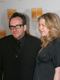 Diana Krall Photo - Musicians Elvis Costello and Diana Krall arriving at the Food Bank of New York Citys annual Can-Do awards gala at Pier Sixty at Chelsea Piers