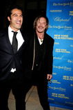 ARMIN AMIRI Photo - Actors  Armin Amiri and Mickey Rourke attend 46th New York Film Festivals Wrestler Premiere held at Avery Fisher Hall in Lincoln Center on October 12 2008 in New York City