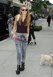 Bella Thorne Photo - May 23 2014 New York CityActress Bella Thorne walks her dog in Soho on May 23 2014 in New York City